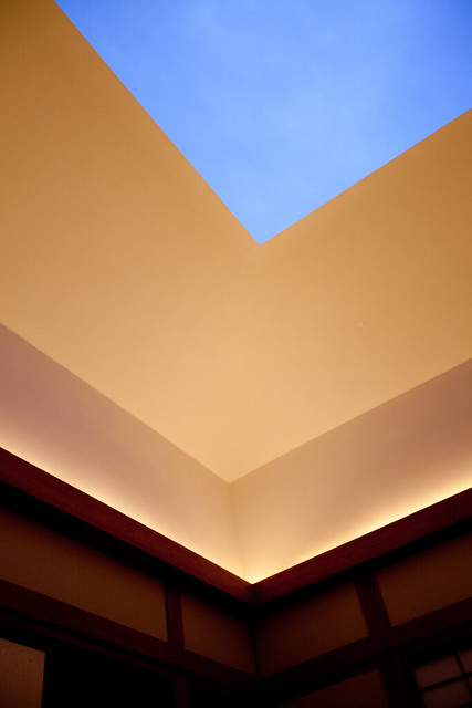 Photo:Morning sky through ceiling at House of Light By Joi