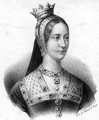 In 1496 on this day Mary Tudor, daughter of Henry VII of England and wife of Louis XII of France was born in Richmond Palace, Surrey. She and her brother (later Henry VIII), were close as children - in fact, he even named his daughter, the future Queen Mary I, after her.
