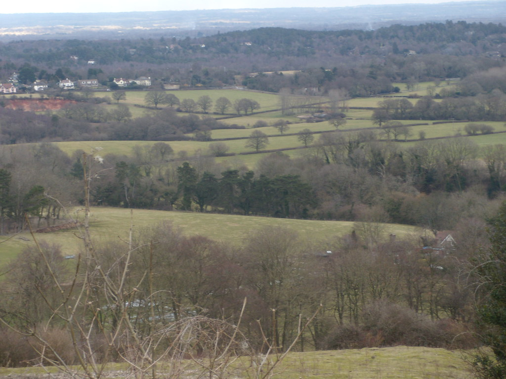 View from the Downs Amberley Circular