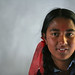 Portrait of girl at Shreeshitalacom Lower Secondary School. Kaski, Nepal