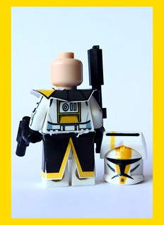 (Newest Edition!) Custom Lego Clone Wars Commander Bly $27.99 (back view)