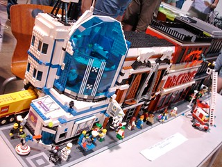 Maker Faire NC: NCLUG Cool Lego Town