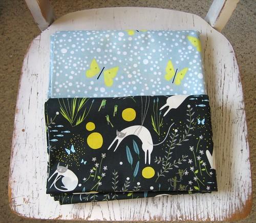 Catnap fabric!