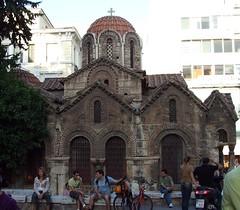 The Kapnikarea Church