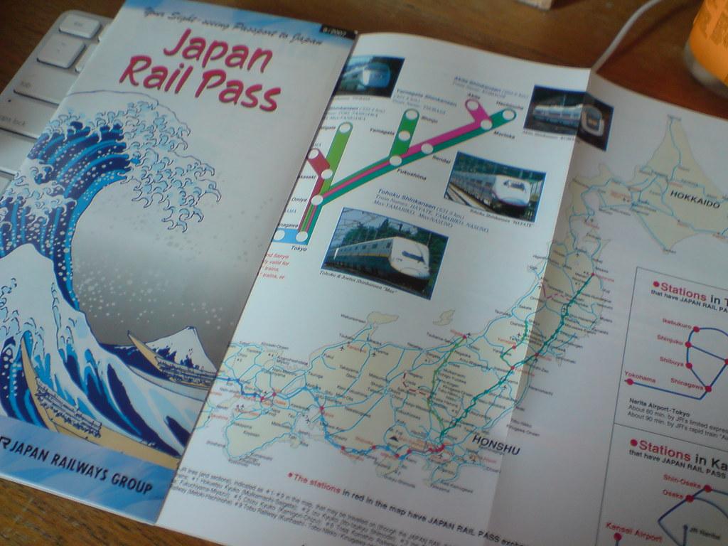Japan Rail Pass ^_^