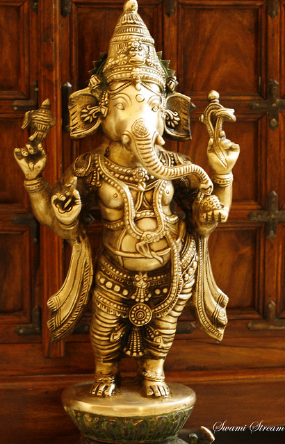 16. Correct way to recite Ganesha Mantras: