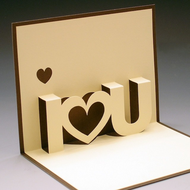 Love You Pop-Up Card : Flickr - Photo Sharing!