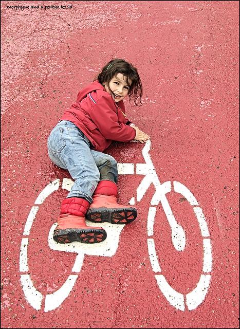 una nuova bici per Maddy