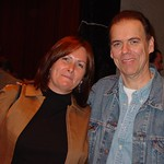 John Hiatt after the show