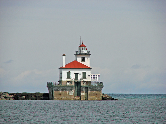 Oswego West Pierhead Lighthouse, NY