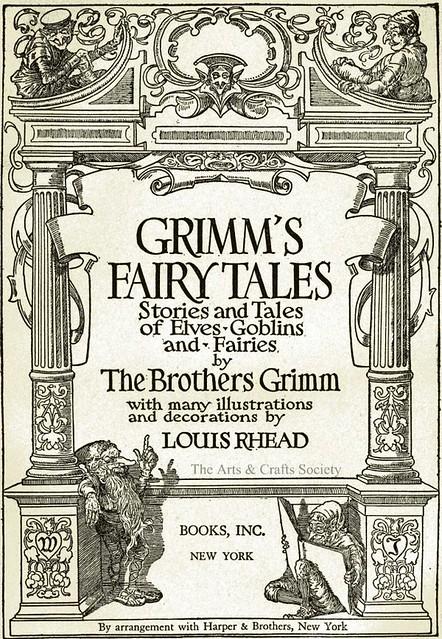 Grimm's Fairy Tales 1917 - Louis Rhead Ill.