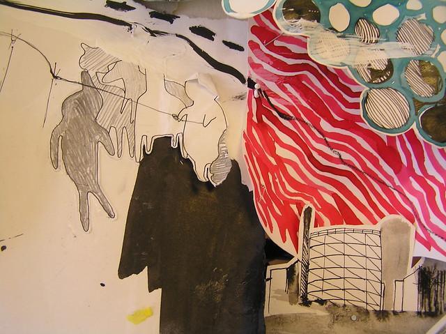 Detail de nieuwe salon ruimtelijke tekening flickr for Photo de salon