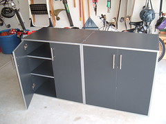 shelf, furniture, room, sideboard,