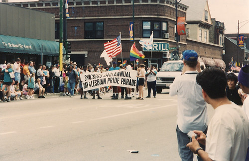 Chicago's 24th Annual Gay and Lesiban Pride Parade 1993