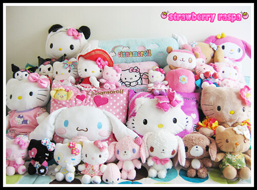 (≧∇≦) My Sanrio Plushies ♥♥
