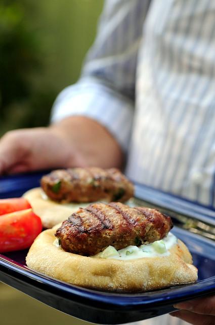 Middle Eastern Turkey Burger | middle eastern taste, turkey ...