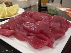 Uncle Beng's Yellowfin Tuna Sashimi
