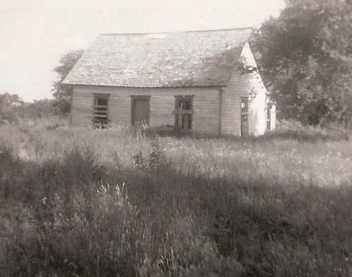 OLD HOMEPLACE, LAREDO, MISSOURI 1940S by roberthuffstutter