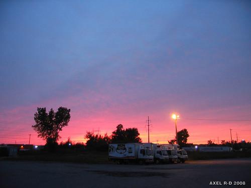 sunset canada québec coucherdesoleil troisrivières