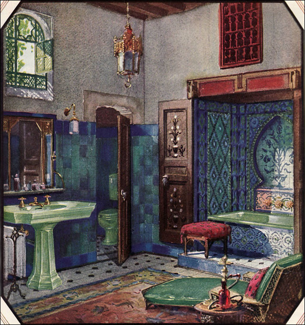 1920s and 1930s bathrooms a gallery on flickr for Bathroom ideas 1920s home