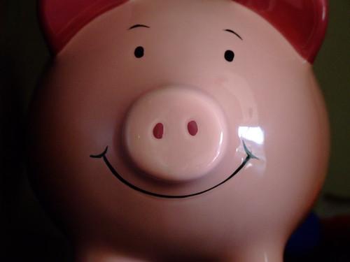 Säästöpossusi tykkää, kun karsit turhia menoeriä (Flickr: point_n_shoot)