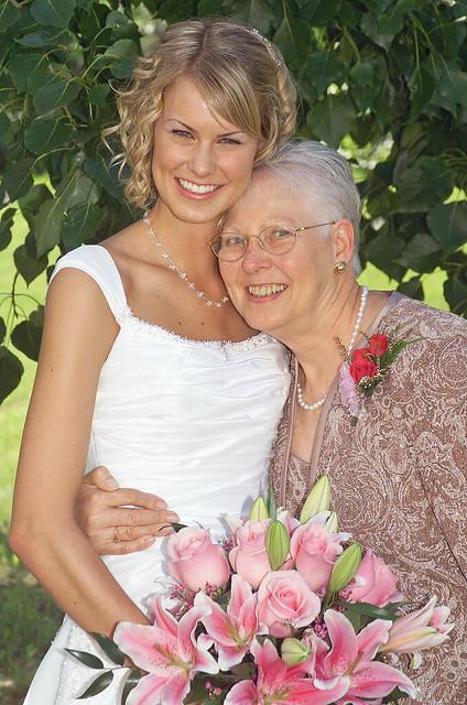 Me & Grandma Throndson