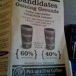 7/11 activating its Election Cup promotion with USA Today