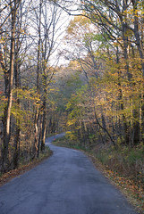 A Fall Drive Along South River Road