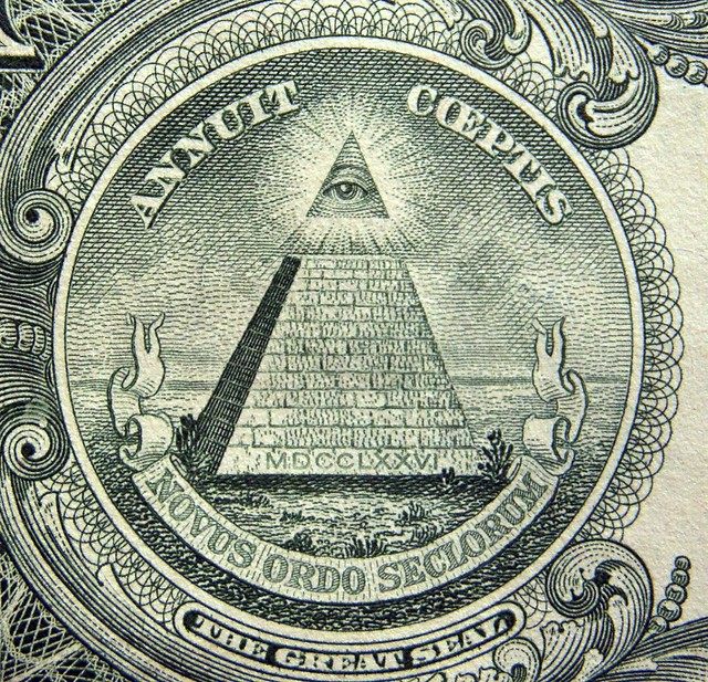 The Great Seal ~ One The Reverse Side Of