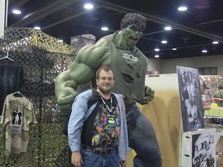 Hulk give lil man love tap!