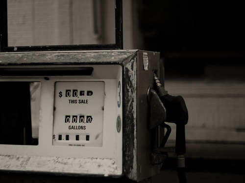 old blackandwhite abandoned downtown texas olympus gas pump greenvilletexas e410 gtowneric 50mm18omzuiko