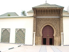 Gates to the city of Meknes