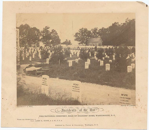Incidents of the War : The National Cemetery, rear of Soldie...