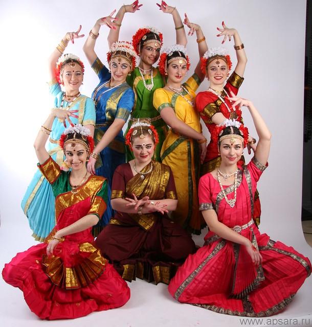 Kuchipudi Group Dance Kuchipudi Dance Apsara Russia