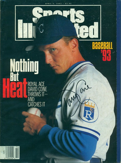 April 5, 1993, Autographed Sports Illustrated by David Cone