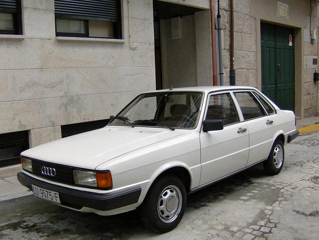 1982 Audi 80 Diesel   Flickr - Photo Sharing!
