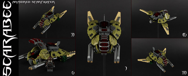 """SCARABEE"" Armored Starfighter"