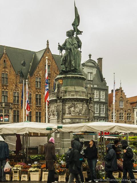 Mercado en la Plaza Mayor