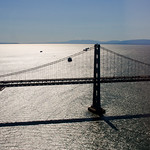 Bay Bridge in the sun