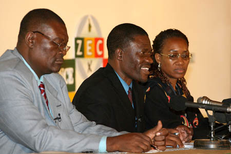 Zimbabwe Electoral Commission announces the results of the March 29, 2008 national poll. Despite repeated false claims of the western-backed opposition MDC and the corporate media, the results are continuing to be announced through official channels. by Pan-African News Wire File Photos