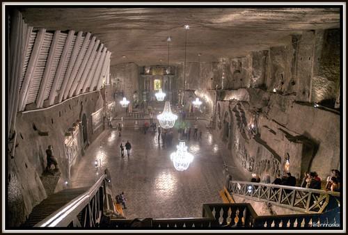Krakow salt mine, Wieliczka