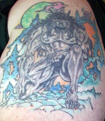 Left Arm Tattoo 01 My first tattoo
