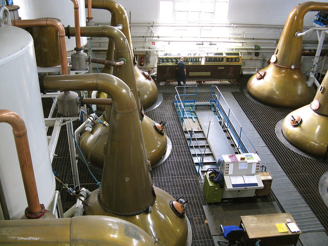 Tormore Distillery - Stills