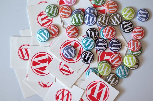 New WordPress Buttons and Stickers
