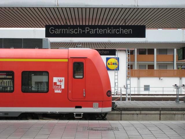 Garmisch-Partenkirchen, irchen, tirol, LIDL