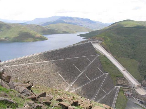The Mohale Dam located in the Mountain Kingdom of Lesotho in Southern Africa. by Pan-African News Wire File Photos