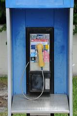machine, blue, payphone,