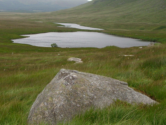 The Round and Long loch of the Dungeon