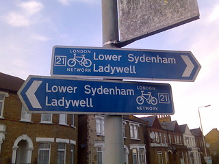 Sydenham this way - and that way