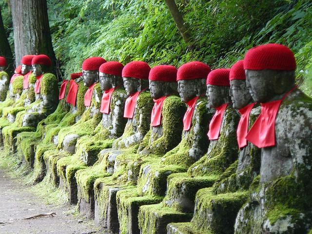 Jizos de Nikko (Japón)